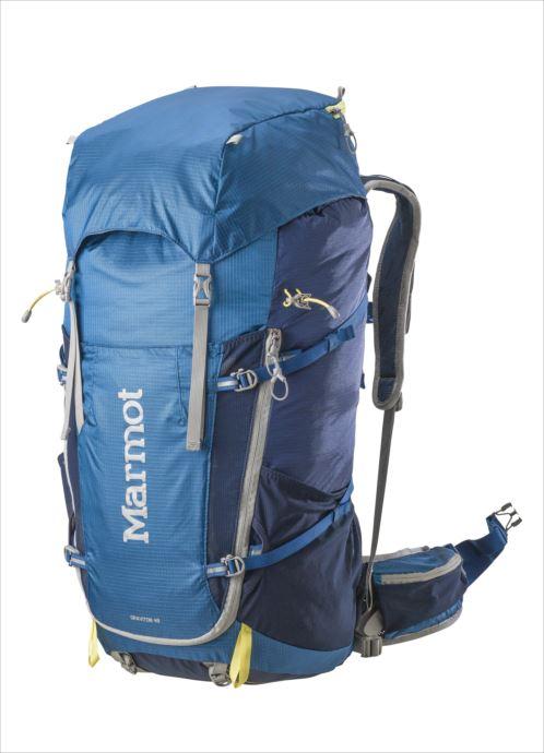 《送料無料》Marmot (マーモット) グラビトン48 ブルーナイト×ダークインク M7B-S2415A 1809 バッグ バックパック