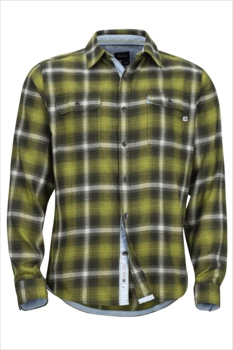 《送料無料》Marmot (マーモット) ジャスパーミッドウェイトフランネルLSシャツ ファティーグ TOMMGB4450 1809 トップス シャツ ブラウス