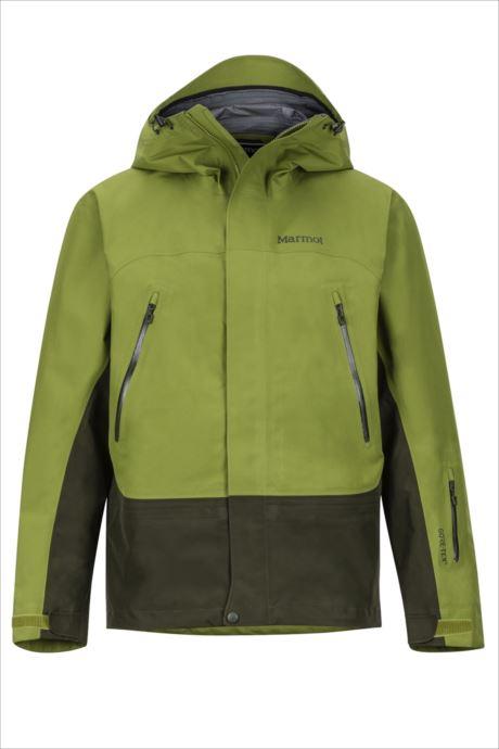 《送料無料》Marmot (マーモット) スパイヤージャケット カラーグリーン×ロジングリーン TOMMGK3155 1809 アウター ジャケット