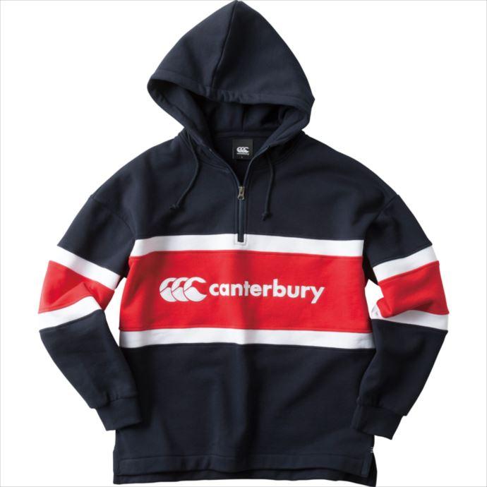 《送料無料》CANTERBURY (カンタベリー) BIG RUGGER SWEAT HOODY 29 RA48593 1810 メンズ ラグビー ウェア