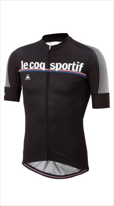《送料無料》le coq sportif (ルコック スポルティフ) レースジャージ/Race Jersey BLK QCMMGA40 1810 メンズ サイクリング ウェア