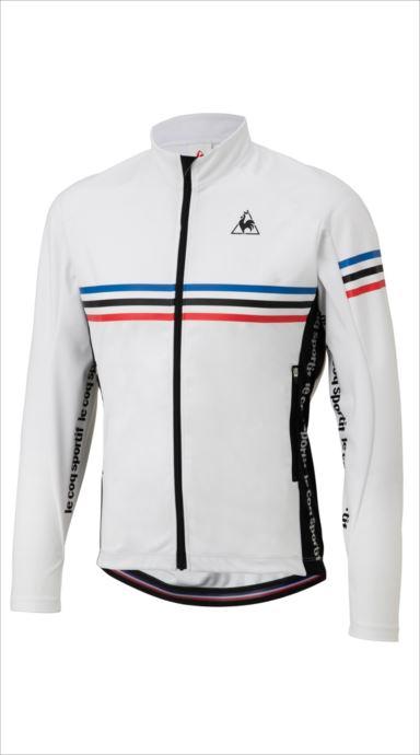 《送料無料》le coq sportif (ルコック スポルティフ) アーレンベルグ L/Sジャージ WHT QCMMGC60 1810 メンズ サイクリング ウェア
