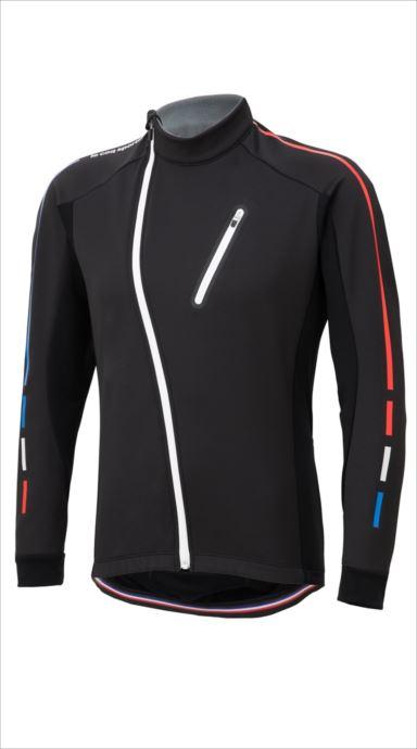 全品ポイント最大4倍!《送料無料》le coq sportif (ルコック スポルティフ) テクノブレンボンディングジャケット BLK QCMMGC62 1810 メンズ サイクリング ウェア