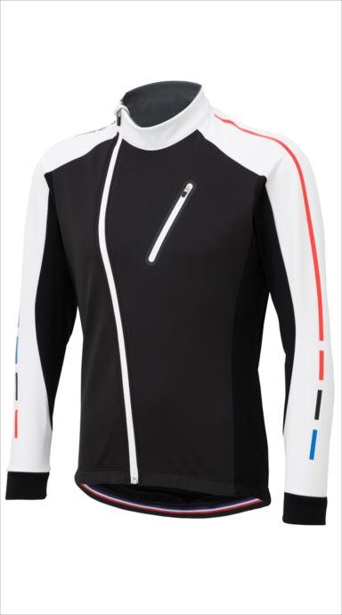 全品ポイント最大4倍!《送料無料》le coq sportif (ルコック スポルティフ) テクノブレンボンディングジャケット WHT QCMMGC62 1810 メンズ サイクリング ウェア