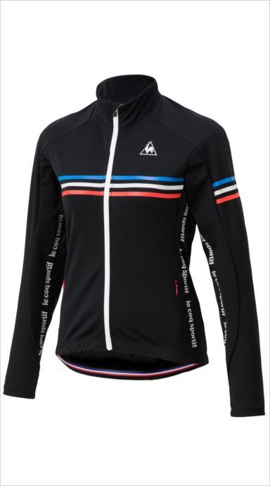 全品ポイント最大4倍!《送料無料》le coq sportif (ルコック スポルティフ) アーレンベルグL/Sジャージ BLK QCWMGC60 1810 レディース サイクリング ウェア