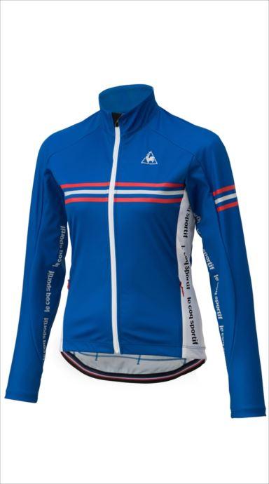 《送料無料》le coq sportif (ルコック スポルティフ) アーレンベルグL/Sジャージ CBL QCWMGC60 1810 レディース サイクリング ウェア