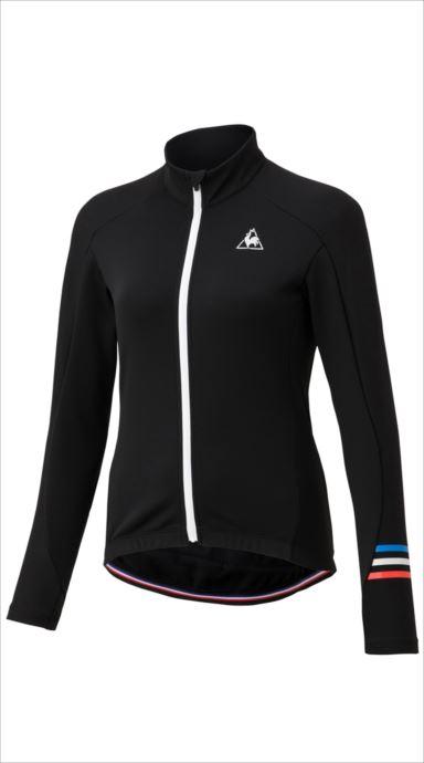 全品ポイント最大4倍!《送料無料》le coq sportif (ルコック スポルティフ) サーモジャージ/Thermon Jersey BLK QCWMGC61 1810 レディース サイクリング ウェア