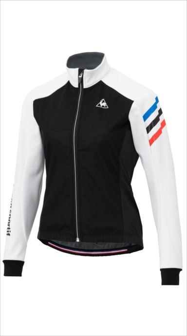 《送料無料》le coq sportif (ルコック スポルティフ) テクノブレンボンディングジャケット WHT QCWMGC63 1810 レディース サイクリング ウェア