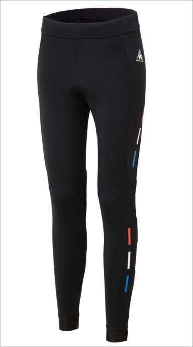 《送料無料》le coq sportif (ルコック スポルティフ) 起毛タイツ/Thermo Tights BLK QCWMGD61 1810 レディース サイクリング ウェア