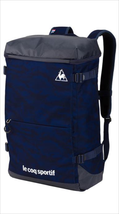 le coq sportif (ルコック スポルティフ) バックパック NVY QMAMJA62 1810 マルチトレーニング バッグ