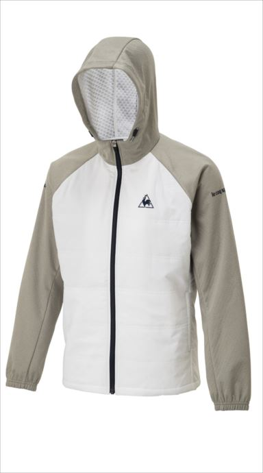 《送料無料》le coq sportif (ルコック スポルティフ) ウィンドジャケット/WIND JACKET WHT QTMMJF22 1810 メンズ テニス ウェア
