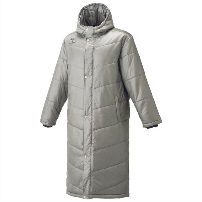《送料無料》hummel(ヒュンメル) 中綿ロングコート(99)ガンメタル HAW8081 1810 コート