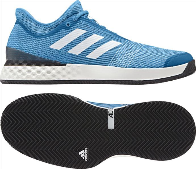 《送料無料》テニスシューズ adidas (アディダス) メンズ adizero ubersonic 3 M MC CG6370 1903 アディゼロ ウーバーソニック テニス シューズ
