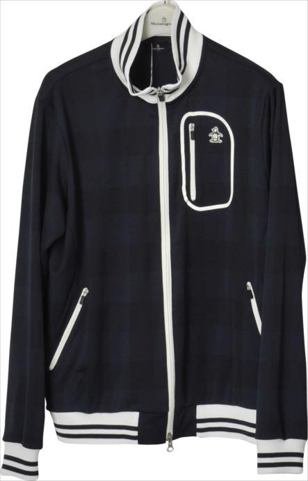 《送料無料》カットソー Munsingwear (マンシングウェア) メンズ MGMLJL51 ネイビー 1904 ゴルフウェア ゴルフ 父の日 プレゼント ギフト