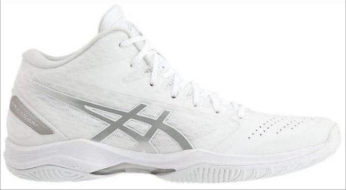 《送料無料》バスケットシューズ asics (アシックス) GELHOOP V11 WHITE/SILVER 1061A013 1905 バスケット シューズ