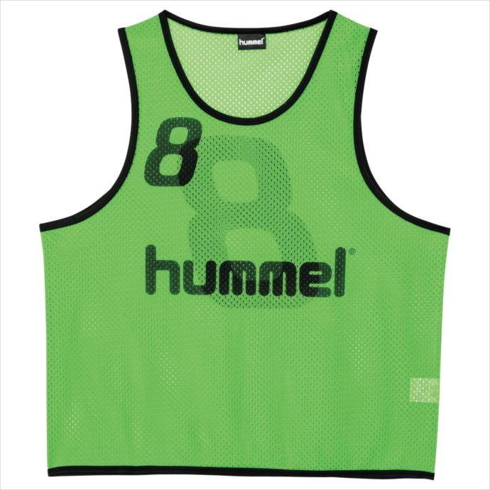 《送料無料》hummel (ヒュンメル) トレーニングビブス (52) HAK6006Z 1908 サッカー フットサル プラクティスシャツ ウェア