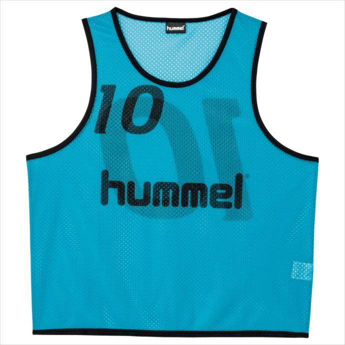 《送料無料》hummel (ヒュンメル) ジュニア トレーニングビブス (62) HJK6006Z 1908 サッカー フットサル プラクティスシャツ ウェア