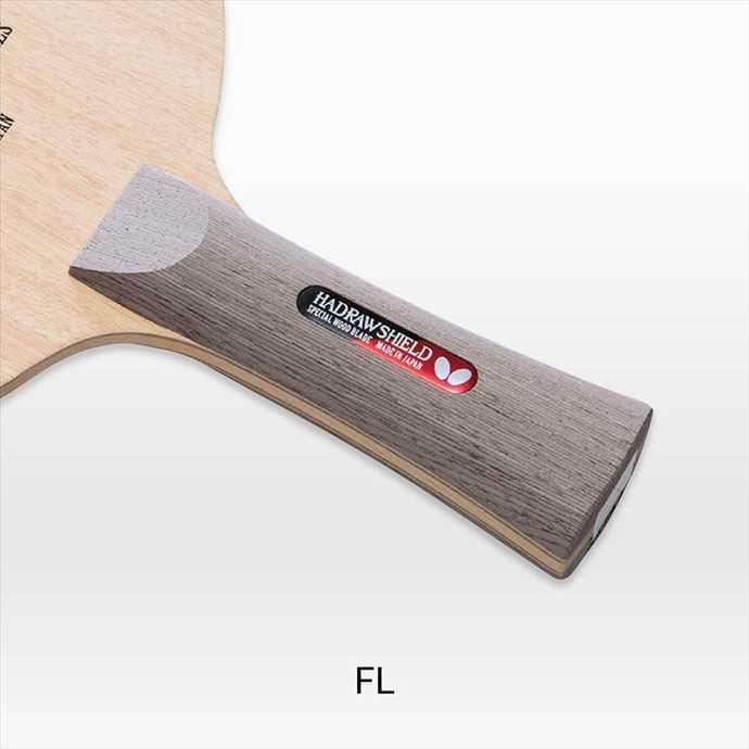 《送料無料》BUTTERFLY (バタフライ) ハッドロウ シールド FL 36791 2002 卓球 ラケット カット用シェーク
