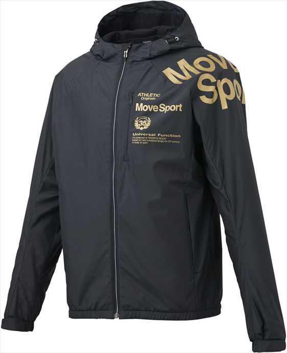 《送料無料》DESCENTE (デサント) メンズ EKS plus THERMO フーデッドジャケット BK DMMOJF34 2002 ウインドウェア スポーツ