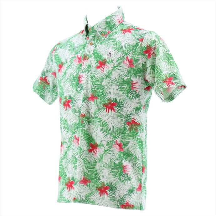 半袖シャツ Munsingwear(マンシングウェア) メンズ MGMNJA03 2002 スポーツ ポロシャツ ゴルフ ウェア