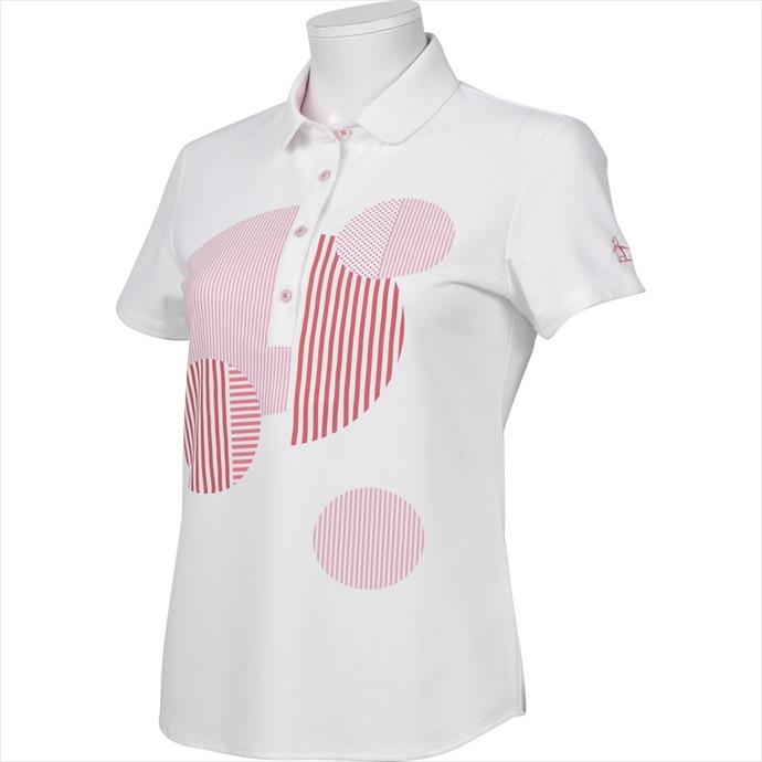 半袖シャツ Munsingwear(マンシングウェア) レディース MGWNJA15 2002 スポーツ ポロシャツ ゴルフ ウェア
