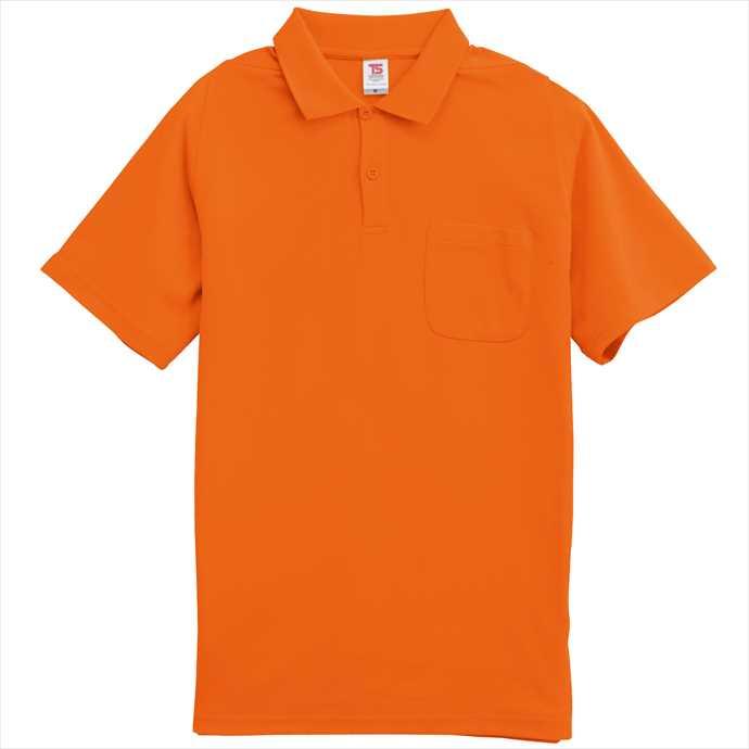 ■TS DESIGNのウェア TS DESIGN 本日限定 ショップ TSデザイン 半袖ポロシャツ 藤和 作業服 1065 ユニフォーム オレンジ 2002