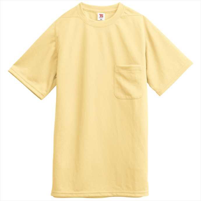 ■TS DESIGNのウェア TS DESIGN TSデザイン Tシャツ ポケット付 2055 ユニフォーム イエロー 作業服 藤和 メーカー直売 2002 卸売り