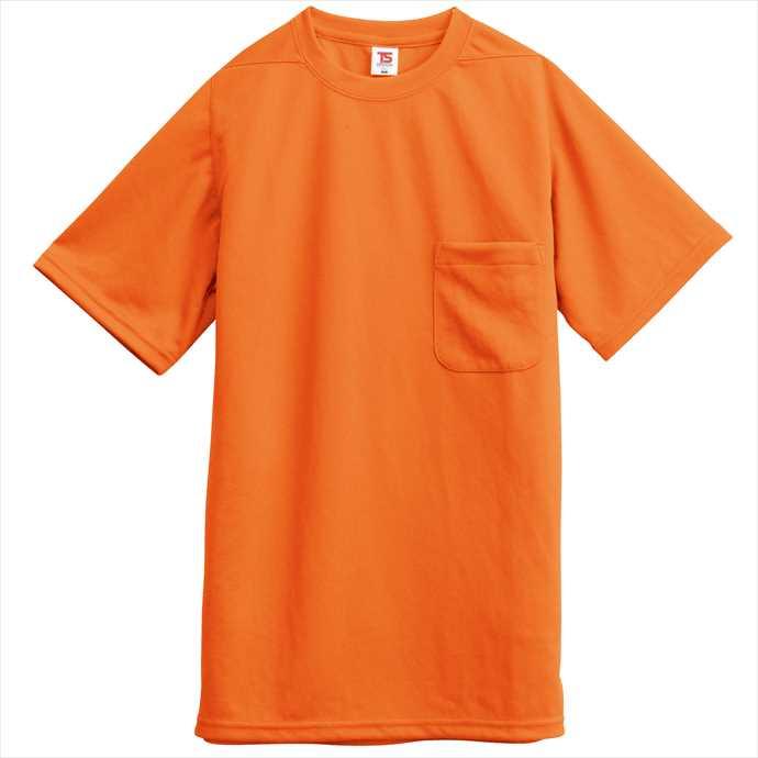 ■TS DESIGNのウェア TS DESIGN TSデザイン Tシャツ ポケット付 2055 ユニフォーム 店内限界値引き中&セルフラッピング無料 2002 作業服 オレンジ 藤和 送料無料激安祭