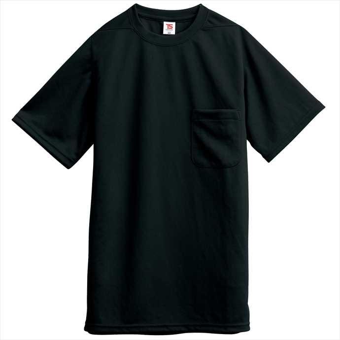 ■TS DESIGNのウェア TS DESIGN TSデザイン Tシャツ ポケット付 藤和 2002 作業服 ブラック 受賞店 ユニフォーム 通販 2055