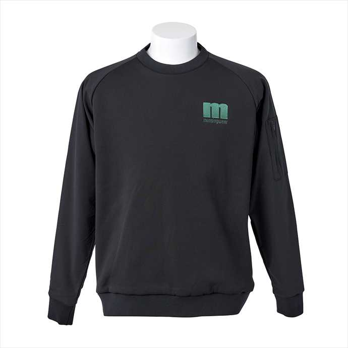 ■Munsingwearのゴルフウェア! 《送料無料》memqjl55-bk00 Munsingwear (マンシング) ハイブリットMA-1ジャケット MEMQJL55 BK00 2109 メンズ