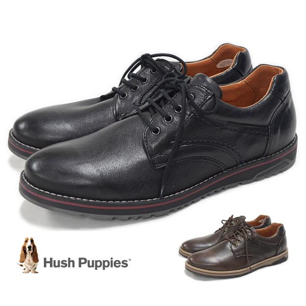 ハッシュパピー Hush Puppies M-E19959 レースアップシューズ メンズ 靴 レザー スニーカー 軽量 日本製 定番
