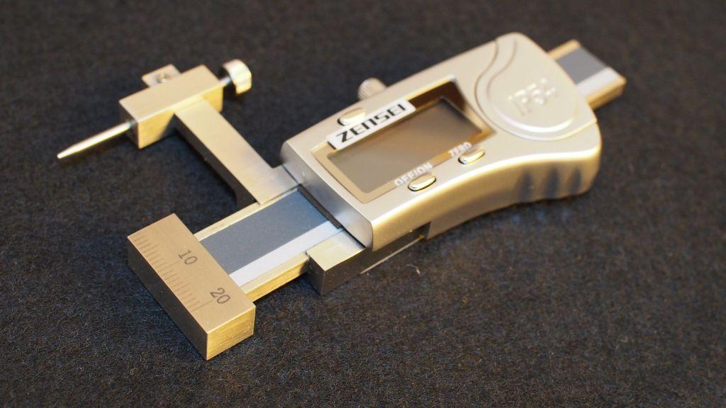 防水デジタルダンチノギス(フラットタイプ)ZS-10DWP