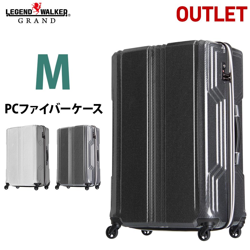 アウトレット LEGEND WALKER B-5603-59 PCファイバー 優れた復元力 スーツケース BLADE 59cm 超軽量 Mサイズ キャリーケース キャリーバッグ レジェンドウォーカー