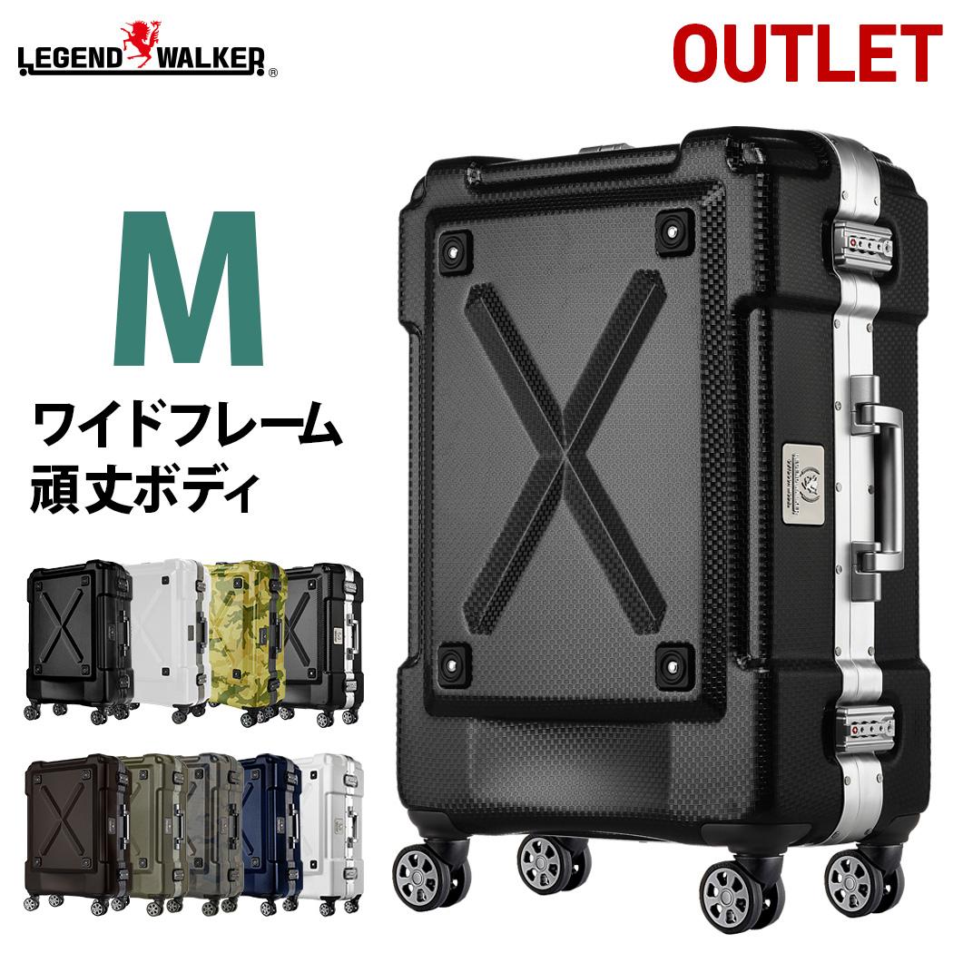 【25%OFF人気スーツケース】スーツケース M サイズ 超軽量 PC100%素材 フレーム ダブルキャスター キャリーバッグ 旅行用かばん 中型 新作 5日 6日 7日 無料受託手荷物 アウトレット 訳あり 158cm 以内 アウトドア B-6302-62