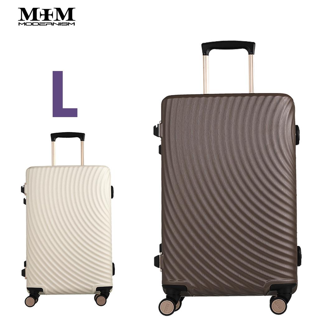 スーツケース キャリーケース キャリーバッグ Lサイズ 7泊以上 ダイヤル TSAロック MEM モダンリズム 【M1004-F70】