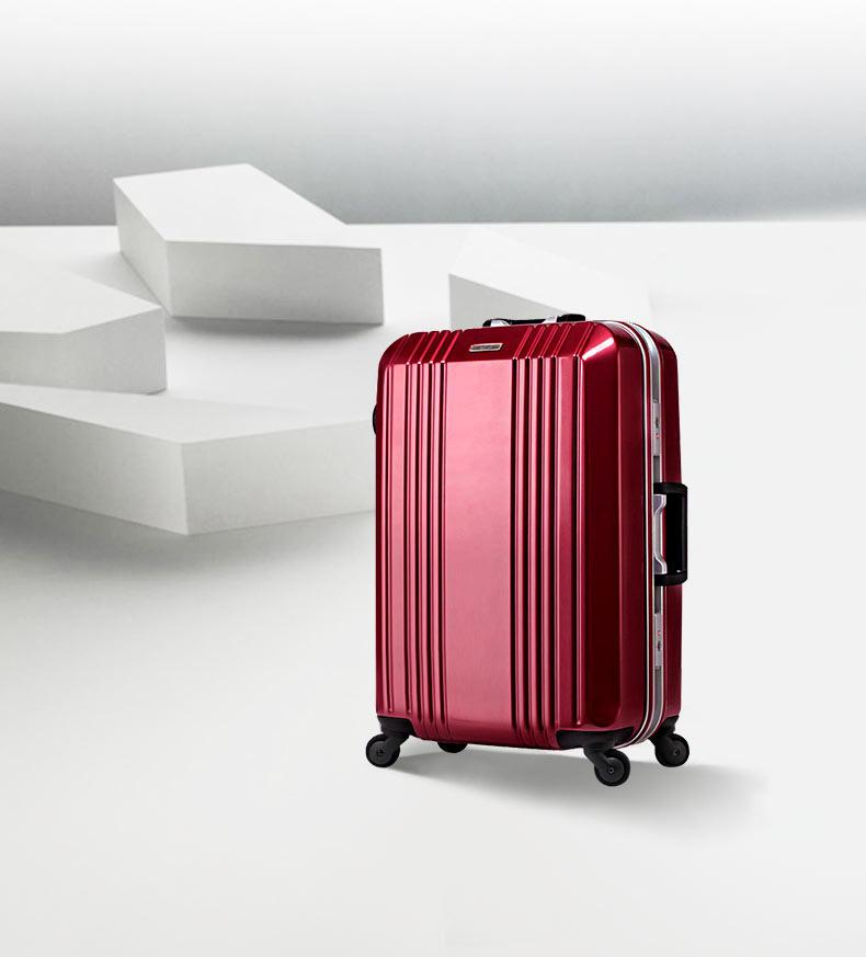 半額 人気MEMブランド スーツケース キャリーバッグ 中型 (MEM モダンリズム)MEM-MF1002-58