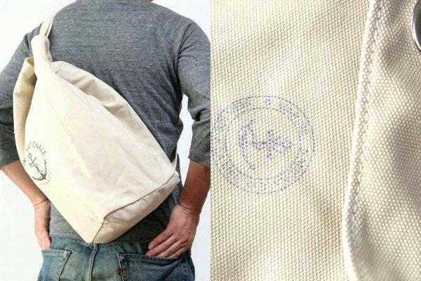 军事行李袋 / 中间 / 法国海军打印 / 肩袋 / 法国海洋阵线
