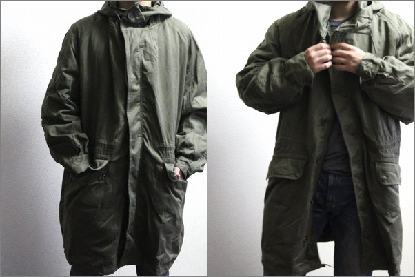 France military M64 mods coat parka USED [liner size difference: Army military dead stock