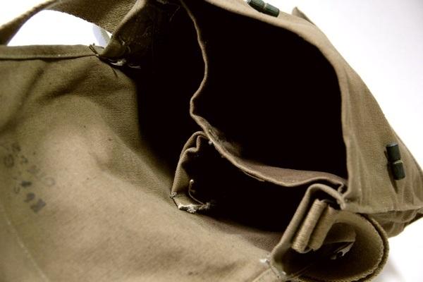 捷克軍防毒面具挎包/帆布/新貨滯銷商品/軍事軍/市鎮·戶外、防災