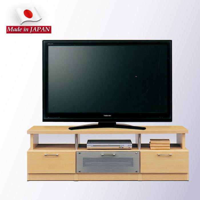 幅150cm テレビボード テレビ台 TVボード  AVボード AVチェスト リビングボード ローボード AV収納 引き出し収納 リビング収納 引き出し スライドレール付き ナチュラル