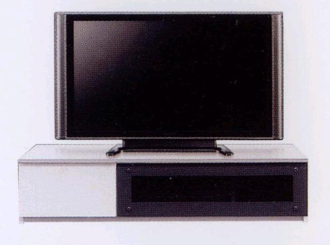 ~40型テレビ対応 幅120cmテレビ台 安全 ゆっくり開くスローダウンステー付きフラップ扉・5mm厚強化ガラス使用・頑丈な箱組み引き出しフルオープンスライドレール仕様 北欧風モダンデザインAVローボードテレビボードTV台TVボード 白ホワイト