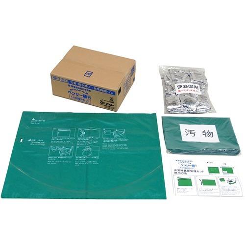 【通販限定/新品/取寄品/代引不可】緊急対策用トイレ袋 ベンリー袋R100回分セット RBI-100A 1セット