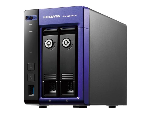 【新品/取寄品/代引不可】Windows Server IoT 2019 for Storage Workgroup/Celeron搭載2ドライブNAS 8TB HDL2-Z19WCA-8