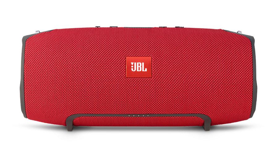 【新品/取寄品】スプラッシュプルーフ対応Bluetoothスピーカー JBL XTREME(エクストリーム)レッド JBLXTREMEREDJN