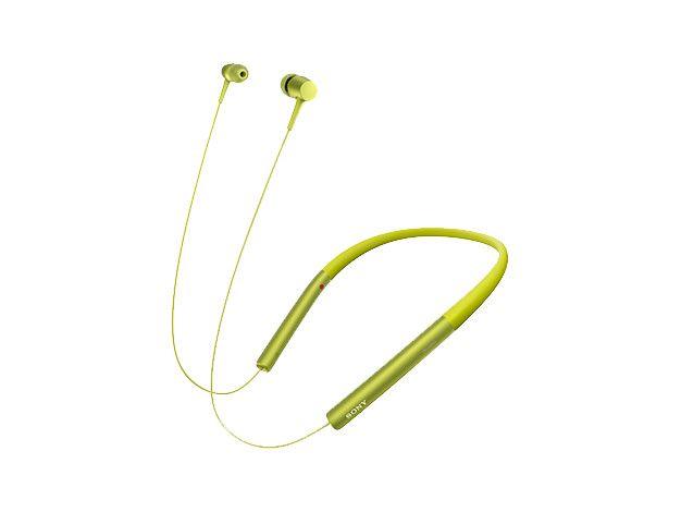 【新品/在庫あり】MDR-EX750BT-Y(ライムイエロー) ワイヤレスステレオヘッドセット