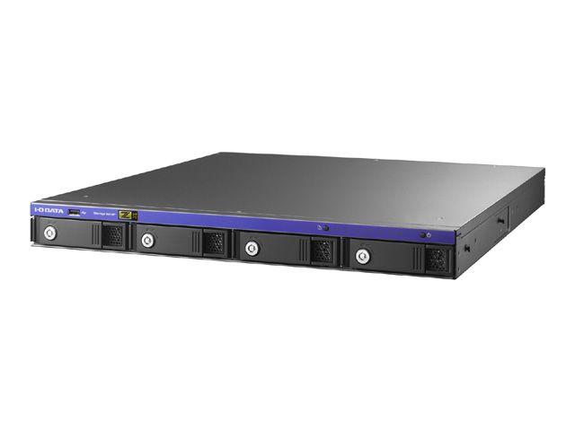 【新品/取寄品/代引不可】Windows Storage Server 2016 Standard Edition/Core i3搭載 1UラックマウントNAS8TB HDL-Z4WP8IR