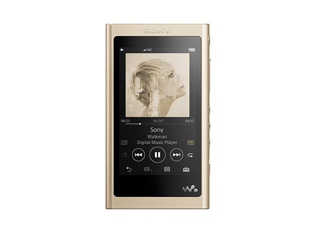 【新品/取寄品/代引不可】ウォークマン Aシリーズ 16GB ペールゴールド(ヘッドホン付属なし) NW-A55/N