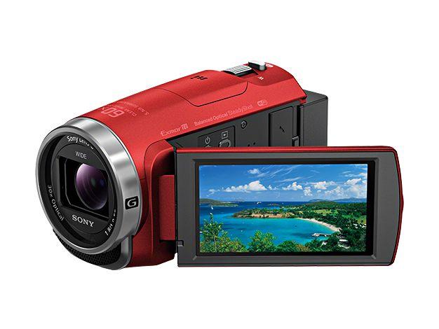 【新品/在庫あり】デジタルHDビデオカメラレコーダー Handycam HDR-CX680-R レッド