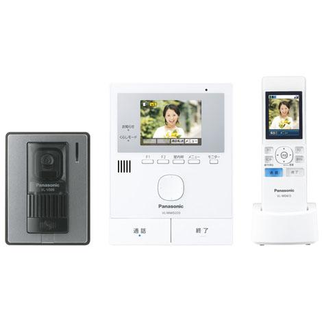 【新品/取寄品】パナソニック ワイヤレスモニター付テレビドアホン どこでもドアホン VL-SWD220K