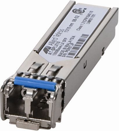 【新品/取寄品/代引不可】AT-SPLX10 SFPモジュール 1000BASE-LX (LC)×1 (最長10km) 0123R